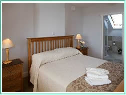 Bedroom at Carraroe 4 star self catering accommodation