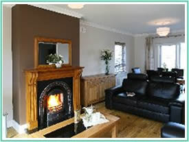Lounge at Carraroe 4 star self catering accommodation